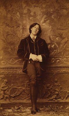 Oscar Wilde - writer, poet, playwright, genius...