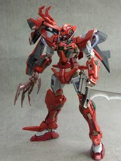 MG 1/100 Gundam Exia custom build by Rusu | Gundam Kits Collection News and Reviews
