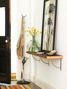 nook and sea : apartment living entryway tips