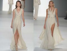 Elie Saab - neutral colours - knows how to make a dress flow