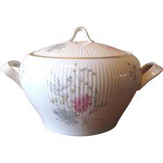 Mid Century Rosenthal German Porcelain Covered Serving Dish at whimsicalvintage.rubylane.com