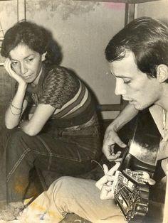 Isabel Parra y Silvio, 1971.
