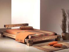 Massivholzbett-Doppelbett-Bett-Holzbett-Balkenbett-Akazie-Sabatino
