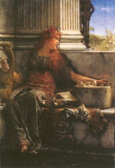 Poetry by Lawrence Alma-Tadema