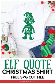 GOOD NEWS I SAW A DOG SHIRT Christmas Svg, Christmas Shirts, Funny Christmas, Handmade Christmas, Christmas Decor, Xmas, Christmas Ornaments, Vinyl Shirts, Cut Shirts