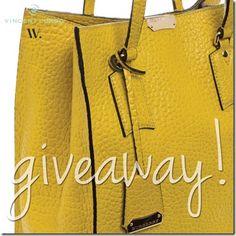 Enter to Win the Wantable Giveaway to Win an Embossed Fall Leather Burberry Tote Filled with Vincent Longo Cosmetics -- ends 08/20/2014 at 12 CST.  All the Best!  This gorgeous deep yellow is the color of the season ladies!