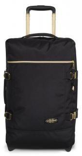 !!!Bordtrolley Eastpak Tranverz S schwarz Gold Handgepäck Nylons, Fashion, Travel, Travel Bags, Suitcase, Black Gold, Bags, Moda, La Mode