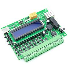 Smart Network Sprinkler Controller - 16 Stations, access via PC or smart phone! Sprinkler Controller, Irrigation Controller, Microcontroller Board, Arduino Board, Internet Network, Network Cable, Software Support, Arduino Projects, Open Source