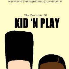 The Evolution Kid 'N Play (@kidfromkidnplay & @ItzBrandNewz)