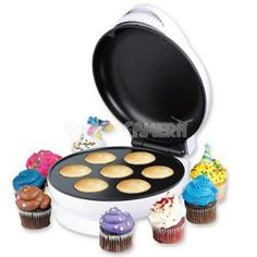 Homemade cupcakes and muffins made easy.