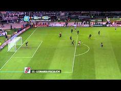 Gol de Pisculichi. River 1 - Boca 0. Semifinal Copa Sudamericana. FPT