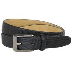 British Belt Company - Burley Leather Formal Belt Black. #doonethingwell
