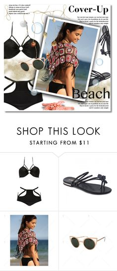 """""""Cover-Up"""" by svijetlana ❤ liked on Polyvore featuring coverUp, polyvoreeditorial and twinkledeals"""