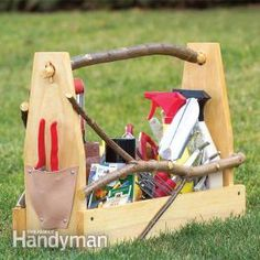 Store Garden Hand Tools: Make a Handmade Toolbox this looks like something I could do!