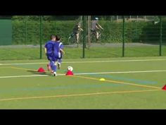 Youth Football 1v1 Drill | Youth Drills | Top Soccer Coach Blog