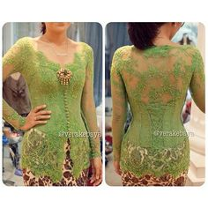 Verakebaya Vera Kebaya, Kebaya Lace, Kebaya Brokat, Dress Brokat, Kebaya Dress, Batik Kebaya, Batik Dress, Trendy Dresses, Fashion Dresses