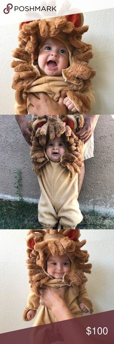 POSH STYLE 🦁 We absolutely LOVE this Lion Costume!!! Perfect for our little Judah Lyon's first Halloween 🦁🦁🦁 Purchased from closet @anazette10 ❤️ Such a wonderful closet!!! Fast Shipping! Nicely Packaged! Great Deal! I LOVE Shopping on Posh Costumes Halloween