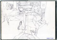 Gi's Perspective - The World through the eyes of Korean Artist Kim Jung Gi - Album on Imgur