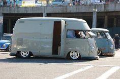 VW Volkswagen camper campervan kombi panel van high top
