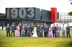 27 Milwaukee Wedding Photographer Kelsey and Marks Harley Davidson and Palms Bistro Wedding Harley Davidson Museum, Wedding Ceremony, Wedding Day, Museum Wedding, Wedding Images, Wedding Engagement, Reception Ideas, Palms, Palmas