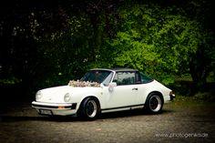 Brautauto Weißer Porsche