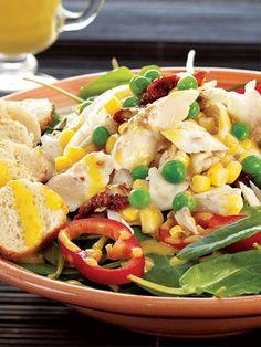 Levrekli kuzukulağı salatası Tarifi - Diyet Yemekleri Yemekleri - Yemek Tarifleri