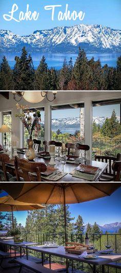 Lake Tahoe, CA #vacation #travel #California
