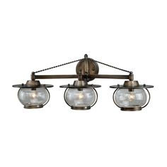 Shop Cascadia Lighting  Jamestown 3 Light Vanity Fixture at Lowe's Canada. Find our selection of bathroom vanity lighting at the lowest price guaranteed with price match + 10% off.