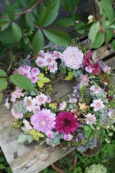flower wreath, door decor