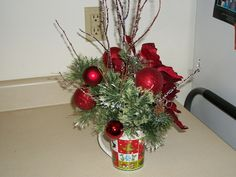 mug christmas arrangements
