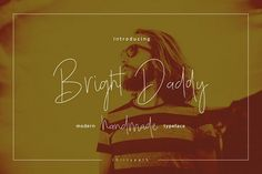 Bright Daddy typeface from FontBundles.net