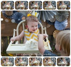 Beehive Cake, Cake Smash, Bee Birthday Theme, First Birthday Party, Cake Smash, NWA Photography