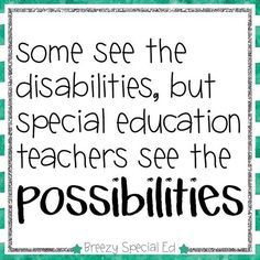 Image result for special ed quote