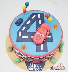 Hey ihr.  Heute habe ich wieder eine neue Torte für euch. Leon, der Sohn meiner Freundin wurde nun schon vier und zu seinem Geburstag gab es...