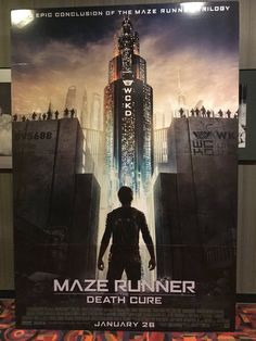 Epic conclusion of the Maze Runner trilogy