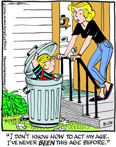 Dennis the Menace for 8/25/2016