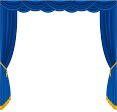 Transparent Blue Curtains Decor PNG Clipart​ | Gallery Yopriceville - High-Quality Images and Transparent PNG Free Clipart