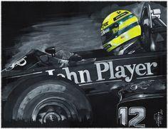 Ayrton Senna. Lotus Renault, 1985