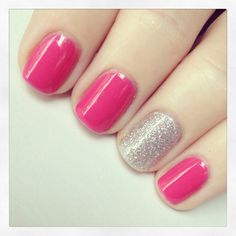 Strawberry Margarita - OPI Gel color my summer fav! New Nail Colors, Gel Polish Colors, Gel Color, Nail Polish, Opi Gel Nails, Gel Manicure, Nail Nail, Polka Dot Nails, Blue Nails