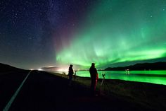 Photographing Northern Lights in Iceland