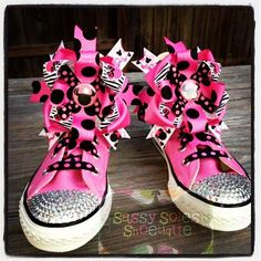 Items similar to Customized Bling Converse on Etsy Bling Converse, Awesome Shoes, Your Shoes, Sassy, My Love, My Style, Creative, Crafts, Products