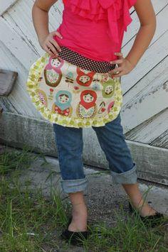 so cute half apron