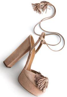"3a2f733966b Aquazzura Wild One Tassel Sandal dupes Ankle Wrap Sandals, Ankle Strap Shoes,  Open Toe. """