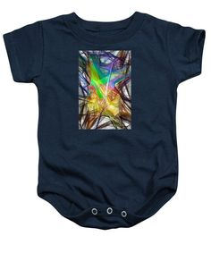 Baby Onesie - Abstract 9618