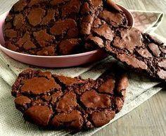 Tolle Schokoladenplätzchen a la Brownies . Yummy Treats, Delicious Desserts, No Bake Desserts, Sweet Treats, Dessert Recipes, Yummy Food, Sweets Cake, Cupcake Cakes, Baking Recipes