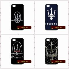 Maserati Car Logo Case Cover case for iphone 4 4s 5 5s 5c 6 6s plus samsung galaxy S3 S4 mini S5 S6 Note 2 3 4   JY0775