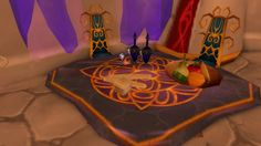 Warcraft Silvermoon Eversong woods Blood elf room decor