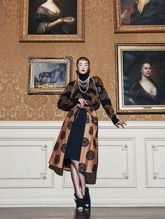 Mis Queridas Fashionistas: Oriental Seduction: Ji Young Kwak For Harper's Bazaar Korea September 2015