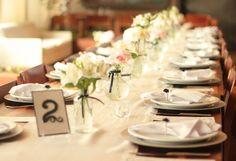 Mini Wedding, mini casamento, casamento branco rosa e azul marinho, pink white navy blue wedding, casamento romantico, romantic wedding decor, gipsofila, casamento na igreja, decor de igreja simples, decor de igreja branca, white church decor, mesa posta, mesa se convidados.