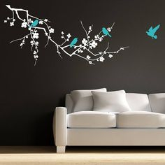 this idea together with a fairy for Mia's bedroom.....gonna look awesome ;)